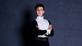 Фрачная рубашка для бальных танцев