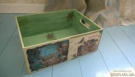 Красивый ящик для игрушек