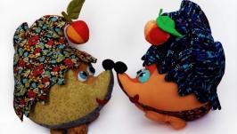 Ежик с фруктами