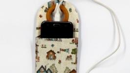 Кармашек для телефона.