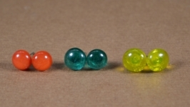 Сережки-гвоздики 3 пары(цена за пару!)
