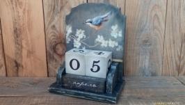 Вечный календарь Птицы Danhui Nai