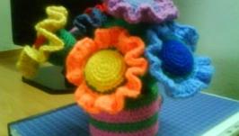 Цветочки-погремушки