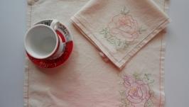 Набор кухонных полотенец Роза