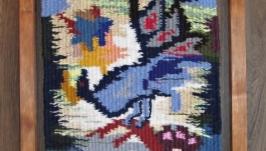 Тканий гобелен Диво-птах