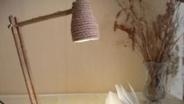 Деревянная настольная лампа - Копия