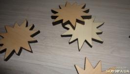 Заготовки деревянные для декупажа - звездочка