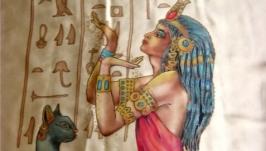 Туника Чарующий Египет батик