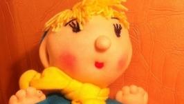 Мягкая игрушка Пузатик Ванюша