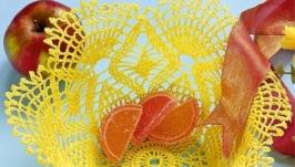Вазы для фруктов и сладостей из салфеток