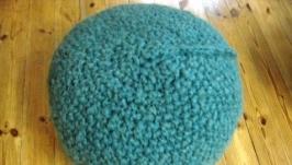 Пуфики Dikan*Wool из 100% шерсти мериноса.