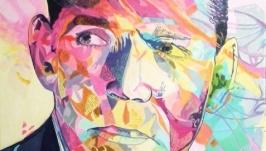 Портрет маслом Clark Gable