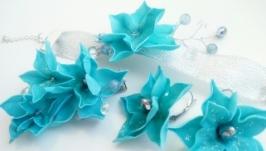 Прикраси ручної роботи з пластичної замши