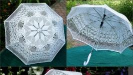 Зонтик ручной работы