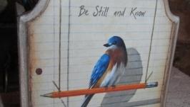 Подставка для канцелярии Птицы