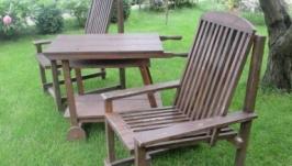 Садовое кресло + столик.