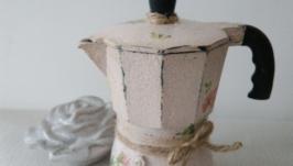 Кофеварка гейзерная Чайная роза