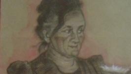 Портрет сангіною