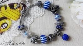 Браслет Pandora Style Морской прибой
