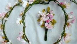 Веночки Яблочный цвет