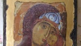 Икона Пресвятой Богородицы древняя