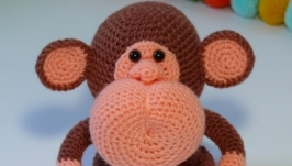 Мордастый обезьяненок