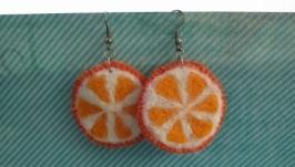 Сережки «Апельсинки»