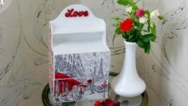 Мини-комод: «Париж - город любви, праздник, что всегда с тобой»