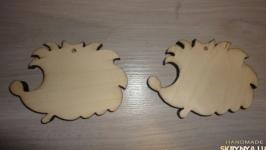 Деревянные игрушки Ежик - подвеска