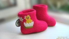 валеночки детские ′Цыплята′