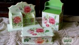Полный комплект: «Розовый сад» - 3 предмета