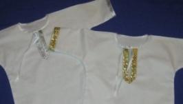 хрестильна рубашечка