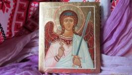 Ікона ручний розпис ′Ангел охоронець′