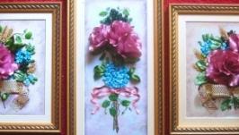 Триптих ′Античные розы′