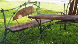 комплект кованой садовой мебели ′Бамбук′