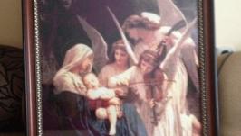 вишита картина Пісня ангелів