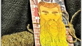 Мужская открытка ′брутальный бородач′