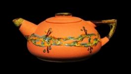 Чайник великий, декор ′крайка′