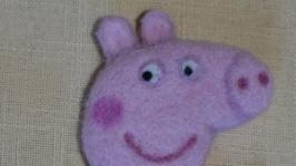 Брошь ′свинка Пеппа′