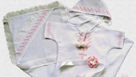 Хрестильний набір для дівчинки ′Чарівниця′.
