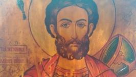 Икона Св мученик Иван Воин