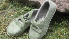 Валяні спортивні туфлі