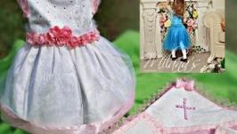 Крестильный набор Крестильное платье Крыжма
