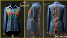 Сорочка Ретро-роза