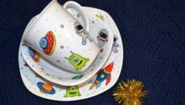 Набор посуды ′Космонавт′