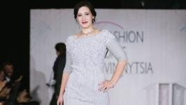 Сукня валяна ′Срібло′