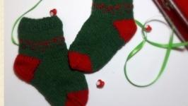 Шкарпетки дитячі в′язані з вовни