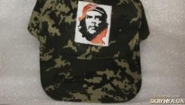 Бейсболка камуфляжная милитари Пиксель  ′Че Гевара ′ Che
