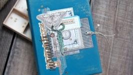 Кожаный блокнот ручной работы