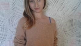 Пуловер ′Кофе с молоком′